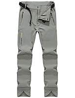 cheap -Men's Hiking Pants Solid Color Outdoor Standard Fit Waterproof Breathable Quick Dry Soft Elastane Pants / Trousers Cargo Pants Bottoms Dark Grey Black Army Green Khaki Dark Navy Hunting Fishing
