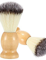cheap -2 pack hand crafted 100% pure badger shaving brush with hard wood handle, men's luxury professional hair salon tool, engineered to deliver the perfect shave of your life