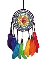 cheap -dream catchers colorful rainbow dreamcatcher
