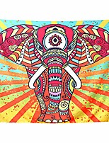 cheap -skull sunflower spaceman elephant large tapestry wall hanging for room decorative & # 40; 59x78.74inch& #40;150x200cm& #41;, mountain forest& #41;