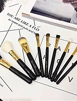 cheap -Professional Makeup Brushes 9pcs New Design Travel Size Makeup Brush Set And Cosmetic Bag Blush Concealer Eye Shadow Makeup Brush Set
