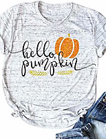 cheap -it& #39;s fall y& #39;all shirts women thanksgiving pumpkin letter funny tops & #40;grey, medium& #41;