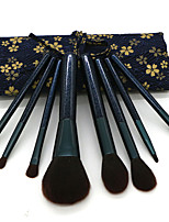 cheap -8 Pcs Makeup Brush Set Portable with Bag Beauty Tools Multi-functional Exquisite Packaging