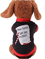 cheap -christmas sweetie dog coat xmas dog clothes dog jumpsuit soft cozy pet clothes pet sweater (l)