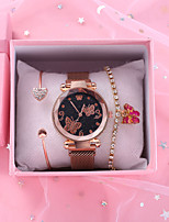 cheap -Women's Quartz Watches Quartz Antique Chronograph Rose Gold Analog - Rose Gold Black