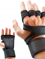 cheap -Mountaineering Exercise Cycling Gloves Non-slip Fitness Sports Gloves Wear-resistant Tactical Cowhide Four-finger Cycling Gloves