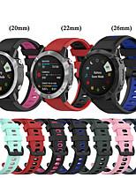 cheap -Quick Release Watch Band for Garmin Fenix 6 Pro / 6X Pro / 6S Pro / Fenix 5 Plus / 5X Plus / Fenix 5S Plus / Fenix 3 HR / Forerunner 945 / 935 / S60 / S62 / MK1 / D2 Bracelet Wrist Strap Wristband