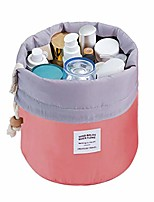 cheap -makeup bag,  travel makeup cosmetic pouch portable handbag toiletry case mini makeup train case cosmetic bag cosmetic organizer travel accessories (red)