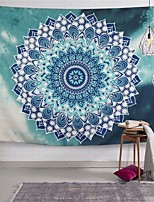cheap -Wall Tapestry Art Decor Blanket Curtain Picnic Tablecloth Hanging Home Bedroom Living Room Dorm Decoration Polyster Print Mandala Beauty Blue