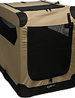 cheap -portable folding soft dog travel crate kennel, small (18 x 18 x 26 inches), tan