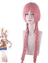cheap -Re:Dive Cosplay Cosplay Wigs Women's Braid 32 inch Heat Resistant Fiber Curly Pink Teen Adults' Anime Wig