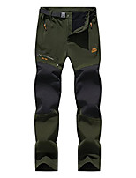 cheap -Hiking Pants Winter Outdoor Thermal Warm Waterproof Windproof Breathable Bottoms Black Army Green Dark Gray Camping / Hiking Hunting Climbing M L XL XXL 3XL / Wear Resistance