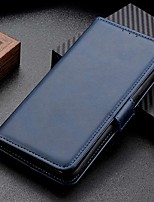 cheap -Case For Sony Xperia 10 II Xperia 1 II Xperia L4 Wallet Card Holder with Stand Full Body Cases Solid Colored PU Leather Case For Sony Xperia XZ5 Xperia 1 Xperia 10 Plus XA3 XZ3 L3
