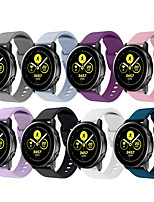 cheap -Watch Band for Samsung Galaxy Watch Active Samsung Galaxy Classic Buckle Silicone Wrist Strap