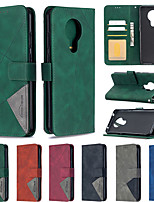 cheap -Case For Nokia Nokia 2.3   Nokia 1.3   Nokia 5.3 Card Holder   Flip   Magnetic Full Body Cases Solid Colored PU Leather