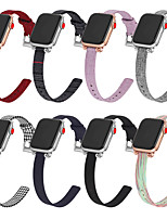 cheap -Watch Band for Apple Watch Series 6 SE 5 4 3 2 1  Apple Classic Buckle Canvas Wrist Strap