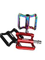 cheap -Bike Pedals Anti-Slip High Strength Skidproof Aluminium 7075 for Cycling Bicycle Mountain Bike MTB Rainbow