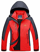 cheap -Women's Hunting Jacket Wind Jacket Fishing Jacket Winter Outdoor Thermal Warm Waterproof Windproof Breathable Jacket Top Cotton Camping / Hiking Hunting Fishing Blue / Red / Quick Dry / Quick Dry