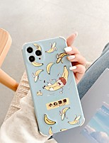cheap -Case For iPhone 11 Pattern Back Cover Food Word Phrase Cartoon TPU Case For iPhone 11 Pro Max / SE2020 / XS Max / XR XS 7 / 8 7 / 8 plus