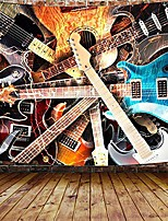 "cheap -music tapestry, guitar musical tapestry wall hanging for bedroom, instrument rock style lover tapestry home decor & #40;60"" w x 40"" h& #41;"