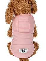 cheap -pet clothes, puppy thickening down coat doggie jacket winter warm hoodie (pink)