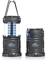 cheap -pop up led lantern -2 pack- perfect lighting for camping, bbq's and emergency light