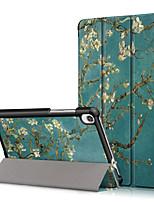 cheap -Case For Lenovo Lenovo Tab4 10(TB-X304F  N) Shockproof   Flip Full Body Cases Flower PU Leather PC