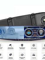 cheap -Radar Detector Spiegel 3 In 1 Dash Cam Dvr Recorder Met Antiradar Gps Tracker Snelheid Detectie Voor Rusland Achter camera