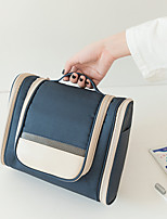 cheap -Travel Organizer Cosmetic Bag Travel Toiletry Bag Large Capacity Washable Travel Storage Hanging Classic Nylon leatherette For Portable Foldable Luggage / Durable