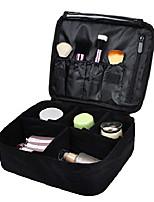 cheap -travel makeup cosmetic train case portable brushes case toiletry bag travel kit organizer cosmetic bag black