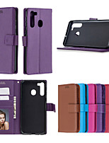 cheap -Case For Huawei NOVA 3i 4 P20LITE NOVA3E P30LITE honor V20 10i 20i 20LITE P SMART Y6 Y7 honor 20 Pro Y5 P20 LITE mate 30 lite Card Holder Shockproof  Flip Full Body Cases Solid Colored PU Leather TPU
