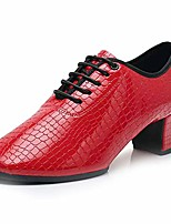 cheap -women& #39;s ballroom dance shoes with chunky heel latin teacher dancing practice shoes split sole,model 701b,us 8