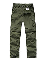 cheap -kids boy's youth quick drying convertible pants, athletic lightweight outdoor hiking shorts,travel cargo fishing trousers,9016,army green,m (9-10 years)