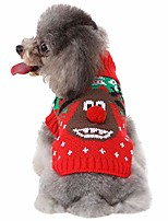 cheap -dog snow sweaters reindeer sweaters xmas dog holiday sweaters, christmas vest sweater winter warm clothing turtleneck dress clothes