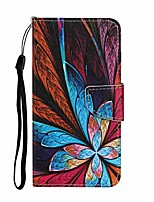 cheap -Case For Samsung Galaxy S20 S20 Plus S20 Ultra Wallet Card Holder with Stand Full Body Cases Colorful Flower PU Leather TPU for Galaxy A21 A11 A01 A51 A71 A41 A31 A21S