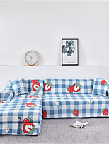 cheap -Stretch Slipcover Sofa Cover Couch Cover Strawberry Printed Sofa Cover Stretch Couch Cover Sofa Slipcovers for 1~4 Cushion Couch with One Free Pillow Case