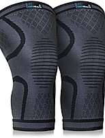 cheap -compression knee brace (2pack) - knee sleeve pain relief - for arthritis, acl and mcl - support for gym, running, working out and sports - for men and women (black, m)
