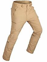 cheap -men's-hiking-pants quick dry lightweight stretchy outdoor camping travel roll-up pants with 5 zipper pockets