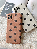 cheap -Case For iPhone 11 Pattern Back Cover Geometric Pattern Textile Case For iPhone 11 Pro Max / SE2020 / XS Max / XR XS 7 / 8 7 / 8 plus