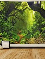cheap -Garden Theme / Bohemian Theme Wall Decor Polyester Tie Dye Wall Art, 25*25*1 cm Decoration