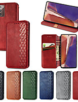 cheap -Magnetic PU Leather Flip Wallet Stand Cover For Samsung Galaxy Noe 20 Note 20Ultra S20 S20Plus S20Ultra S10 S9 S8Plus A21S A71 4G 5G A51 A21S A70 A50 A30S A20 A10 case