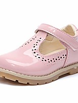 cheap -girl's mary jane school uniform shoes party dress shoes for kids princess flat (5.5 toddler,a/pink)