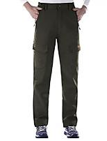 "cheap -women's warm water-resistant windproof fleece lined hiking camping sweat pants green1 m/30.5"" inseam"