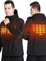 cheap -heated jacket waterproof outdoor apparel work jackets heated coats for men black