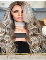 cheap -Synthetic Wig Curly Body Wave Asymmetrical Wig Long Light Blonde Synthetic Hair Women's Fashionable Design Easy to Carry Comfortable Blonde