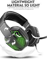 cheap -Surround Sound Gaming Headset Over Ear Headphones with Noise Canceling Mic RGB Light Compatible