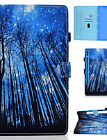 cheap -Case For Samsung Galaxy Tab S7 T870 875 Samsung Galaxy Tab A7 2020 T500 505 Card Holder Flip Magnetic Full Body Cases Word Phrase Animal Tree PU Leather
