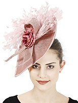 cheap -Queen Elizabeth Audrey Hepburn Retro Vintage 1950s 1920s Kentucky Derby Hat Pillbox Hat Women's Costume Hat Blushing Pink / Pink / Fuchsia Vintage Cosplay Party Prom