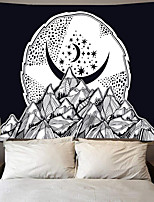 cheap -Tarot Divination Wall Tapestry Art Decor Blanket Curtain Picnic Tablecloth Hanging Home Bedroom Living Room Dorm Decoration Mysterious Bohemian Moon Star Mountain