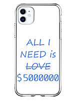 cheap -Letter Case For Apple iPhone 11 Pro Max iPhone XR iphone 7Plus / 8Plus Unique Design Shockproof Back Cover TPU